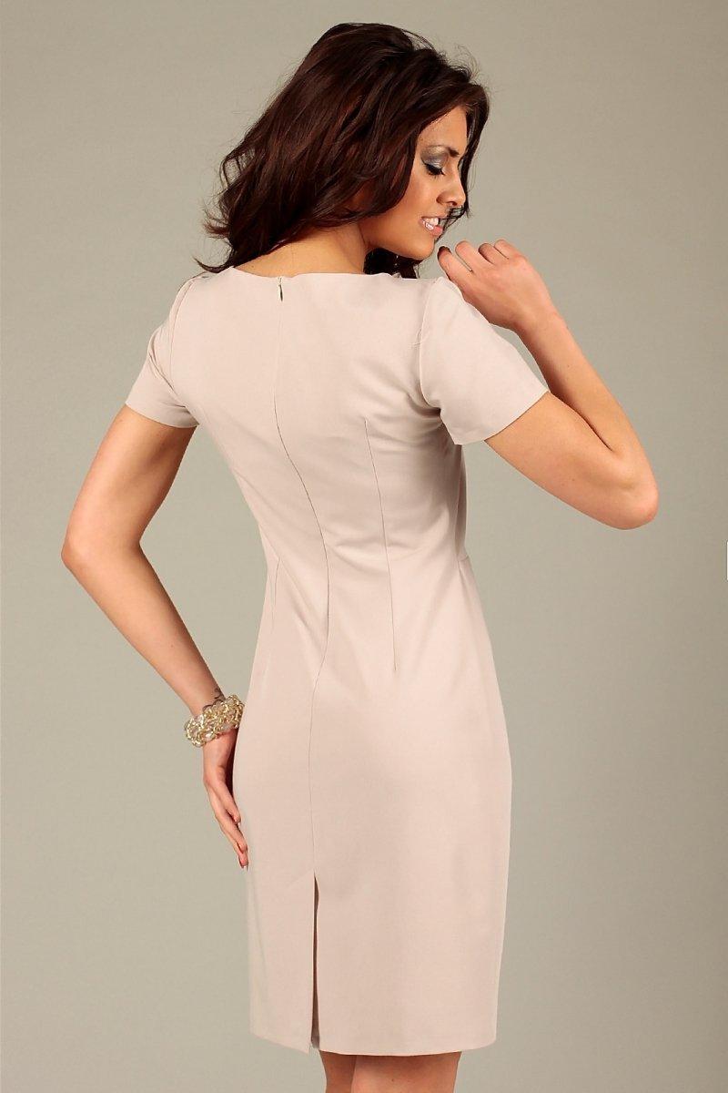 7ffb51a0e1 Vera Fashion Rachela sukienka beż - Sukienki wizytowe Vera Fashion ...