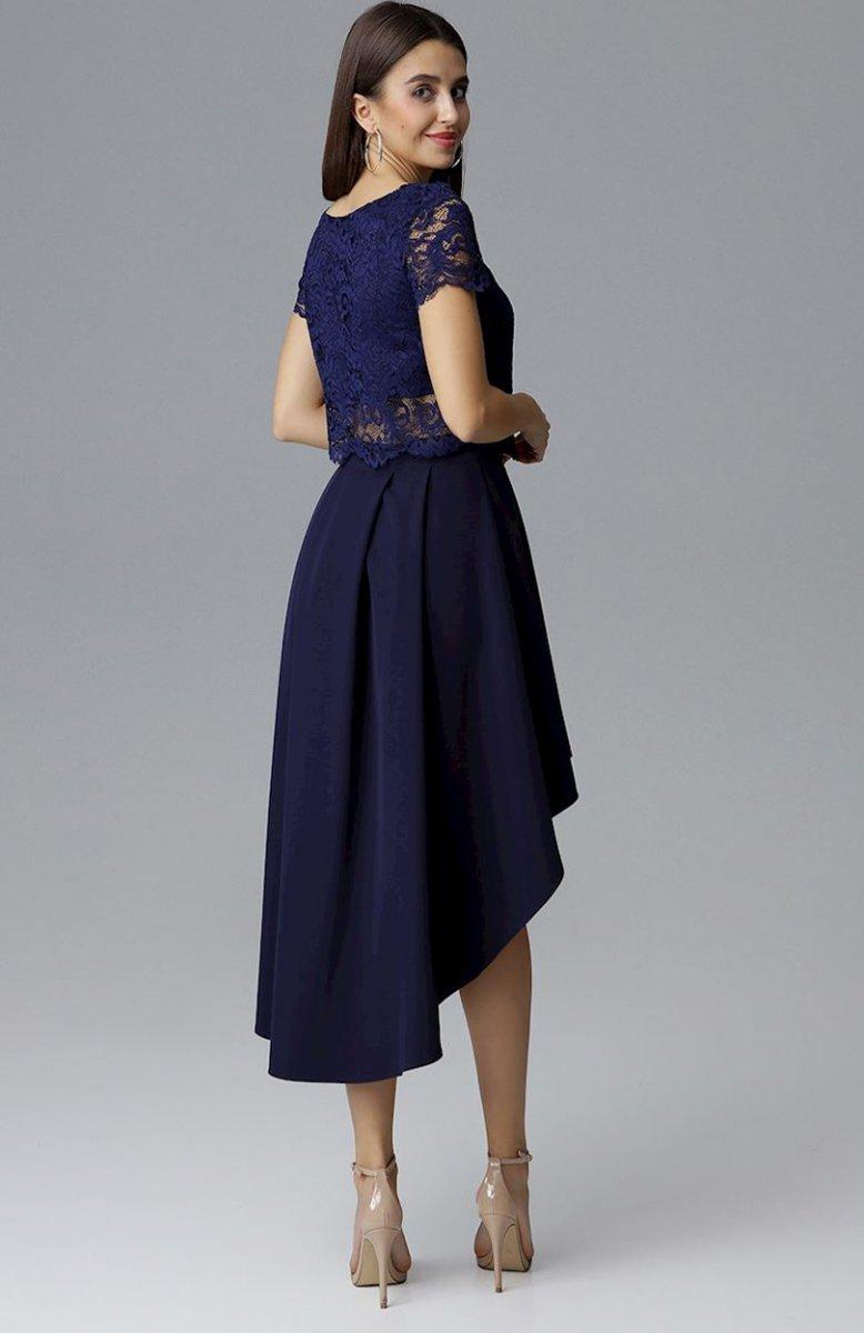 1dd61f020d Figl M641 spódnica i top granatowy - Sukienki koronkowe - Sukienki ...