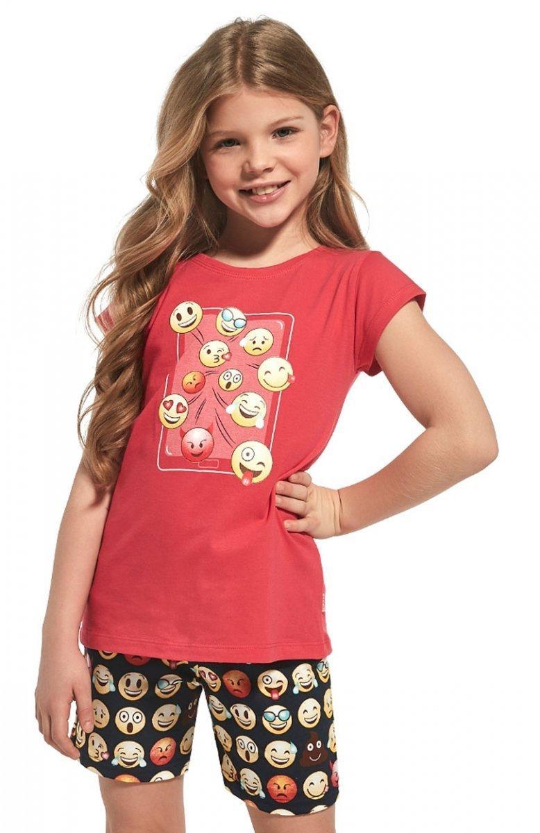 6da0a7e574973d Cornette Young Girl 788/64 Emoticon piżama – Piżamy dziecięce ...