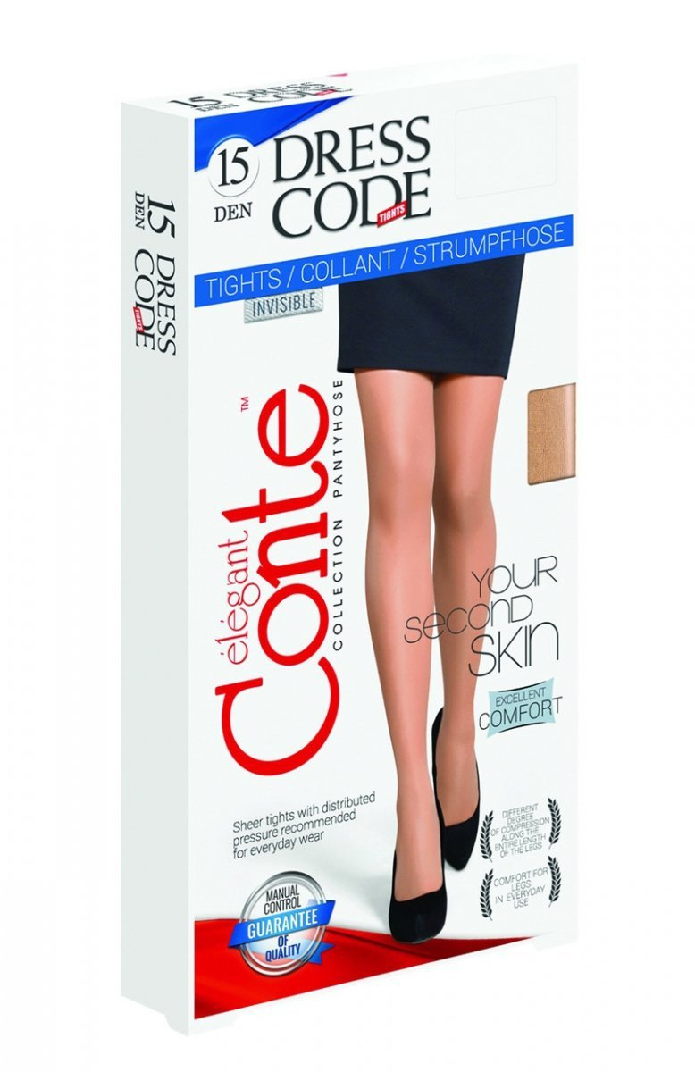 00d9c8ed968fe2 Conte Dress Code 15 rajstopy - Rajtopy damskie - Wzorzyste rajstopy ...