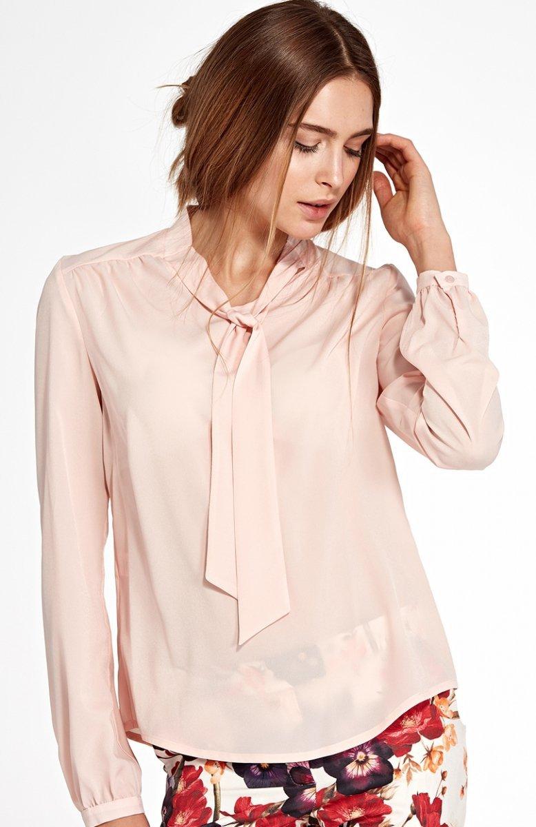 Nife B94R bluzka różowa Bluzki i Koszule damskie MODA  GFqmy