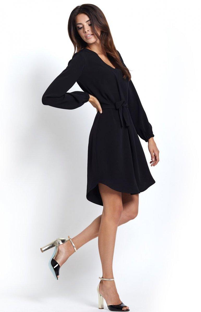 67ca32d158 Ivon Karina sukienka czarna - Sukienki dzienne - SUKIENKI - Moda ...
