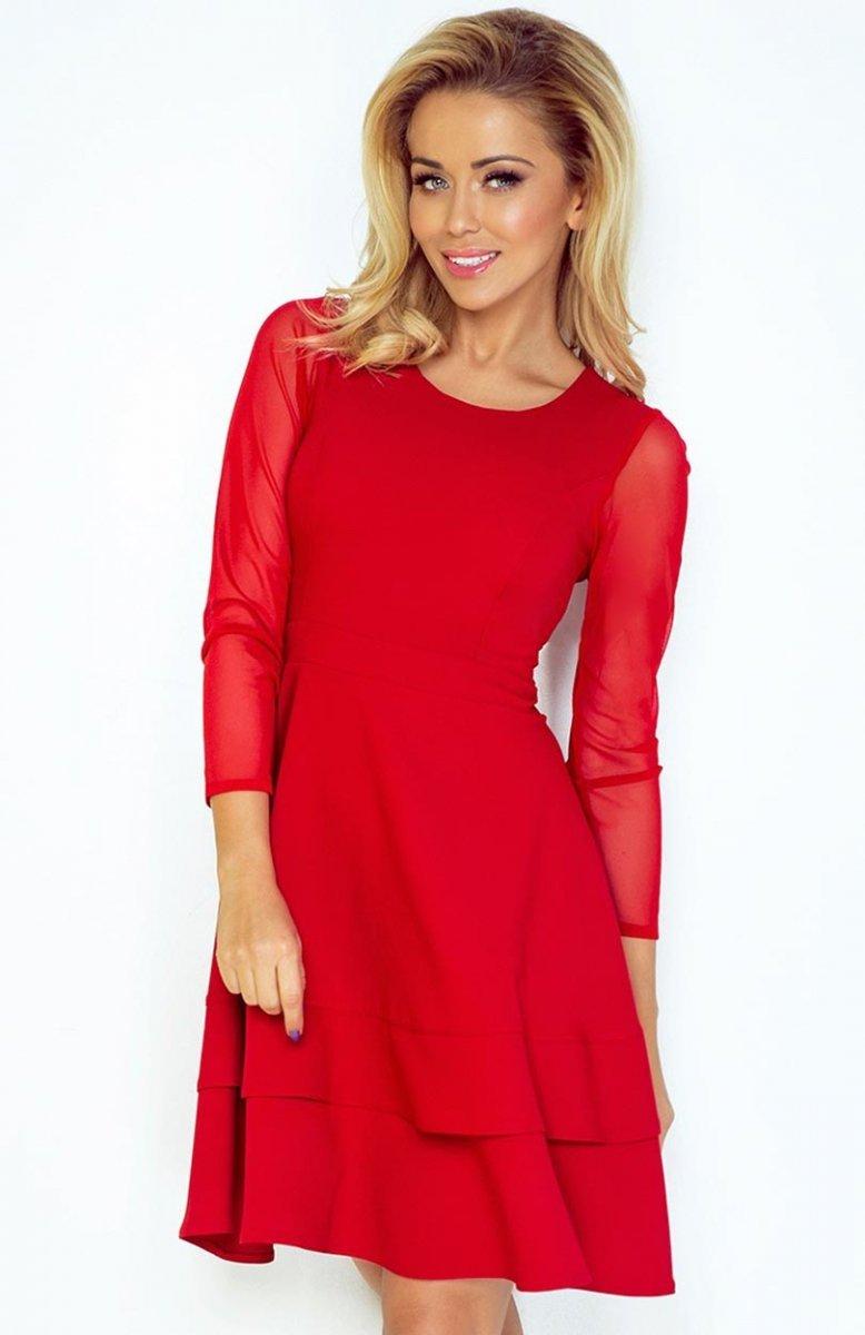 6e67f7c3a6 SAF 141-2 sukienka czerwona - Sukienki na wesele 2017 - Modne ...