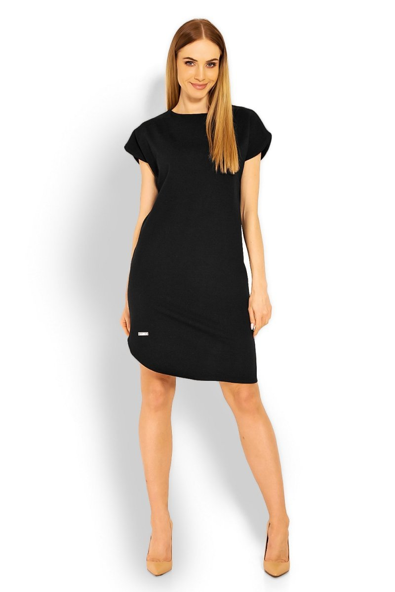 f5cd71a1ac PeekaBoo 1629 sukienka czarna - Sukienki dzienne - Modne sukienki ...