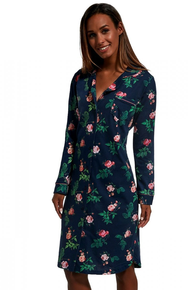 7a3d846c8 Cornette 104/209 Roses koszula nocna – Koszulki bawełniane i ...