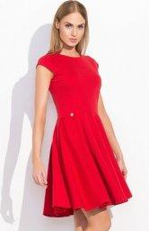 Makadamia M296 sukienka czerwona