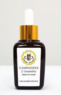 Olejek do twarzy czarnuszka z tamanu