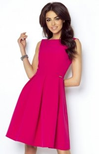 *Ivon Tailor 215 sukienka fuksja