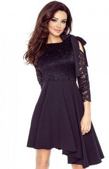 Bergamo 78-03 sukienka czarna