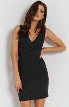 Seksowna czarna sukienka Paola