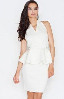 Figl M368 sukienka ecru