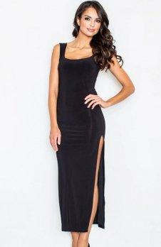 Figl M425 sukienka czarna