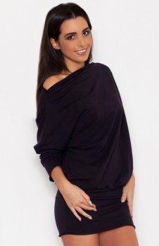 Katrus K254 sukienka czarna