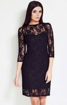 Awama S17 sukienka czarna