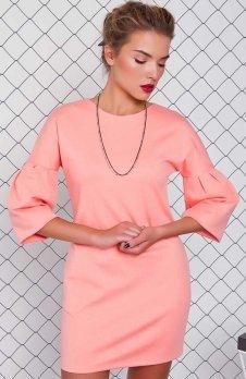 Cover GR1010 sukienka brzoskwiniowa