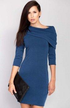 Cover ММ1002 sukienka niebieska