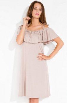 Fobya L115 sukienka mocca