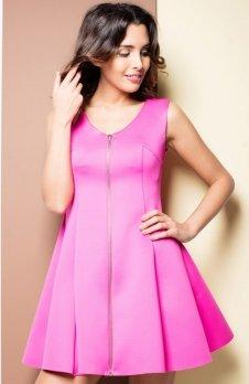 Katrus K255 sukienka różowa