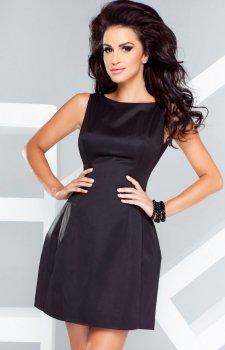 *Ivon 186 sukienka czarna