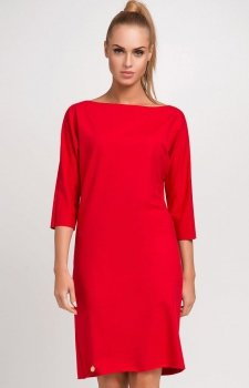 Makadamia M236 sukienka czerwona