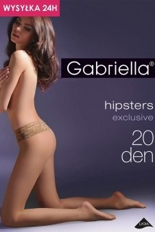 Gabriella Hipsters exclusive 20 den Code 630 rajstopy