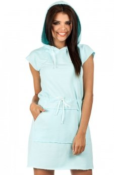 Moe MOE101 sukienka miętowa