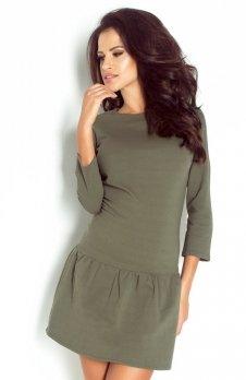 Ivon 193 sukienka khaki