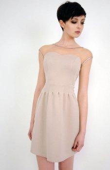 Vera Fashion Catherine sukienka beż