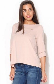 Katrus K136 bluzka różowa