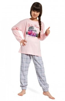 Cornette Kids Girl 540/81 Go To Rome piżama