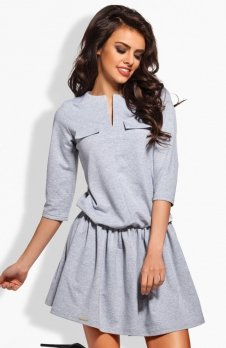Lemoniade L126 sukienka szara