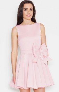 Katrus K271 sukienka róż