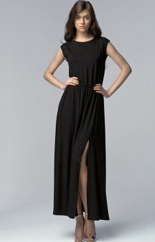 Nife S61 sukienka czarna