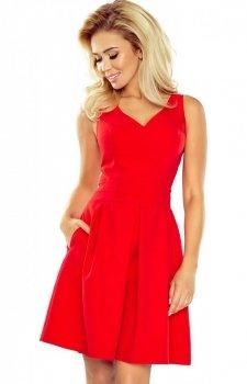 Numoco 160-3 sukienka czerwona