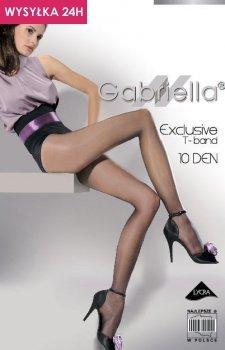 Gabriella Exclusive T-Band 10 Den Code 101 rajstopy klasyczne