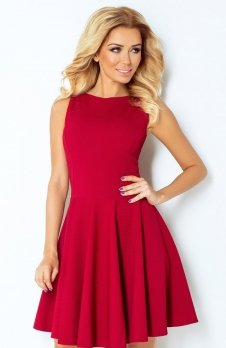 SAF 125-1 sukienka bordowa