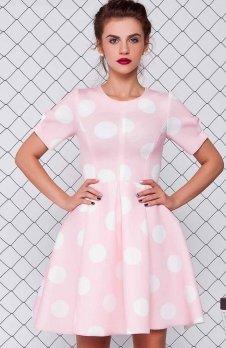 Cover GR1079 sukienka różowa
