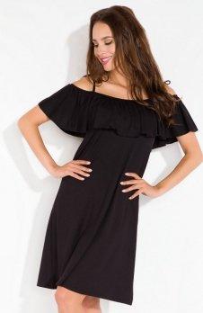 Fobya L115 sukienka czarna