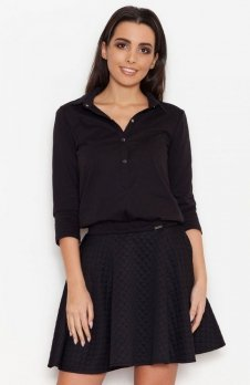 Katrus K258 sukienka czarna