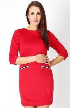 Vera Fashion Oxana sukienka czerwona