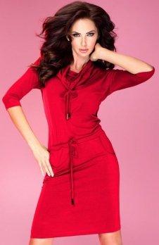 SAF 44-13 sukienka czerwona