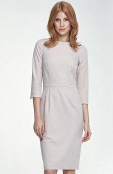 Nife S80 sukienka beżowa