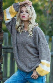 Fobya F578 sweter mocca