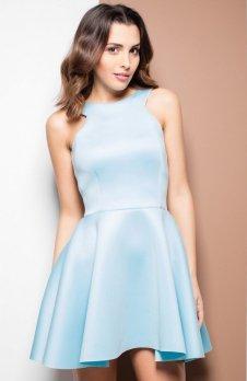 Katrus K265 sukienka niebieska