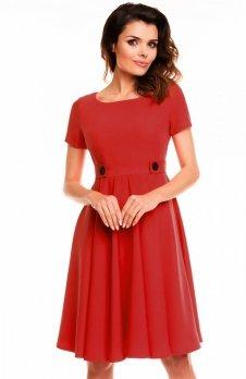 Awama A135 sukienka czerwona