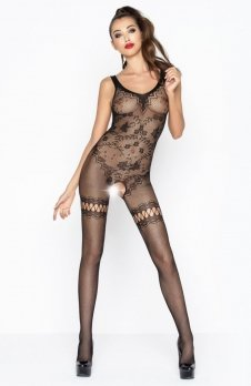 Passion BS045 bodystocking czarne