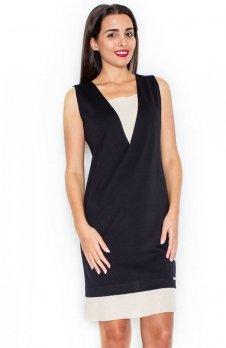 Katrus K318 sukienka czarna