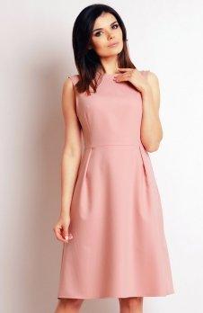Infinite You M097 sukienka pudrowy róż