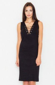 Figl M487 sukienka czarna