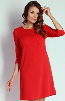 Nommo NA103 sukienka czerwona